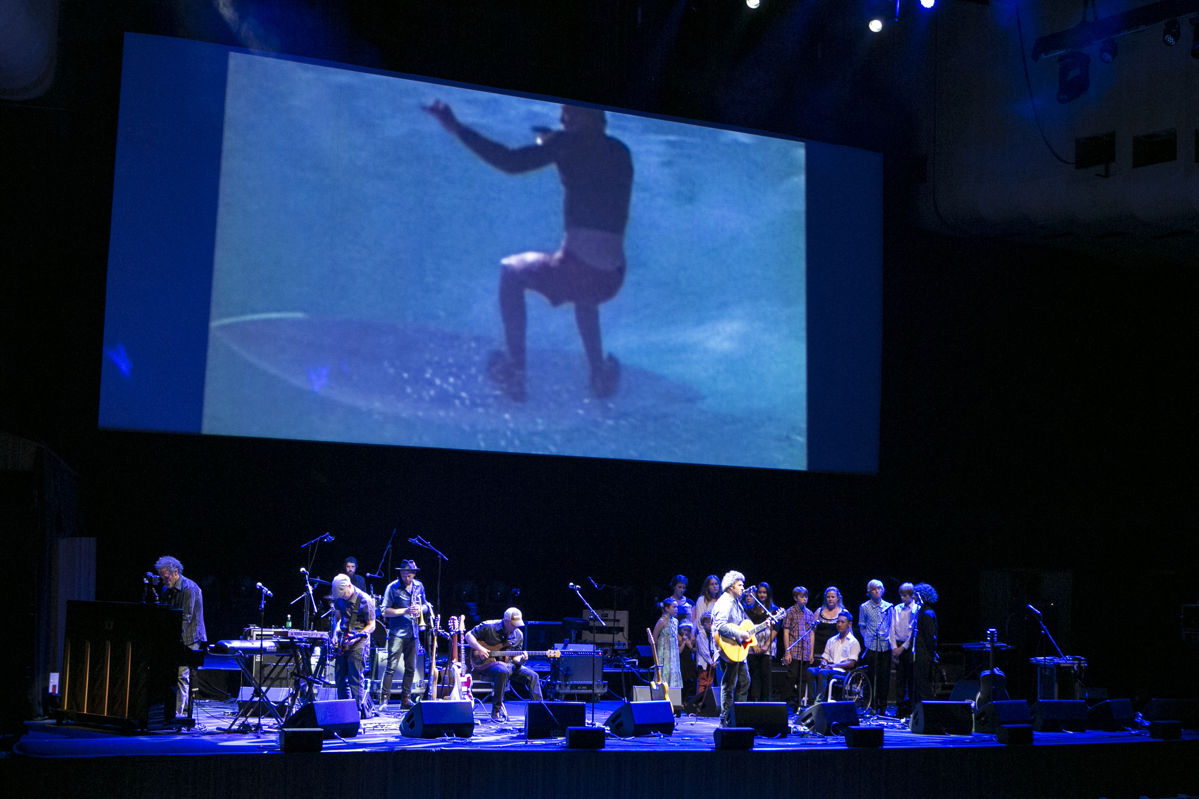 Andrew Kidman & The Windy Hills performing at the Sydney Opera House with Spirit of Akasha